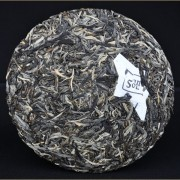 2014-BlackTeaLeaves-quotAutumn-Lao-Shu-Bai-Chaquot-Old-Arbor-Raw-Pu-erh-tea-cake-2