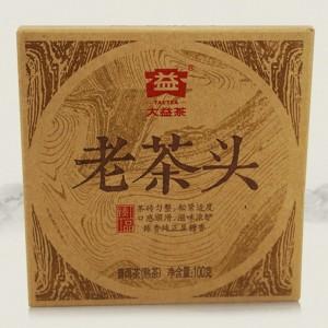 2014-Menghai-quotLao-Cha-Touquot-Brick-Ripe-Pu-erh-tea