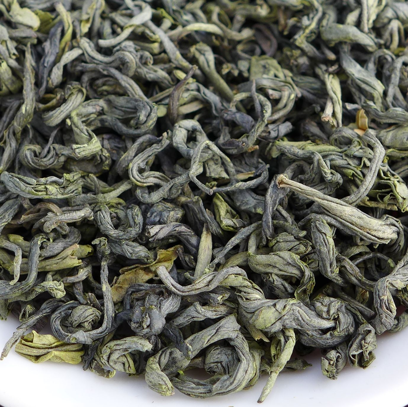 Jiangxi High Mountain Organic Bi Luo Chun Green Tea from Da Zhang Mountain * Spring 2015