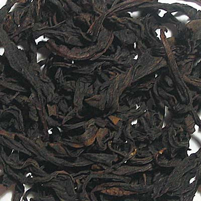 Yunnan post-fermented lotus leaf black pu erh tea