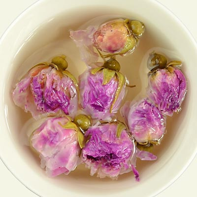 8 different flavors gift tea,yunnan rose puerh tea